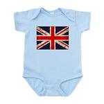 Grunge UK Flag Infant Bodysuit