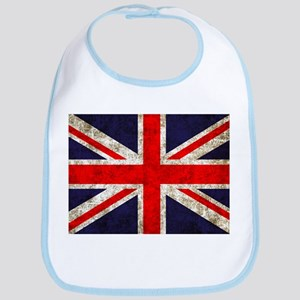 Grunge UK Flag Bib