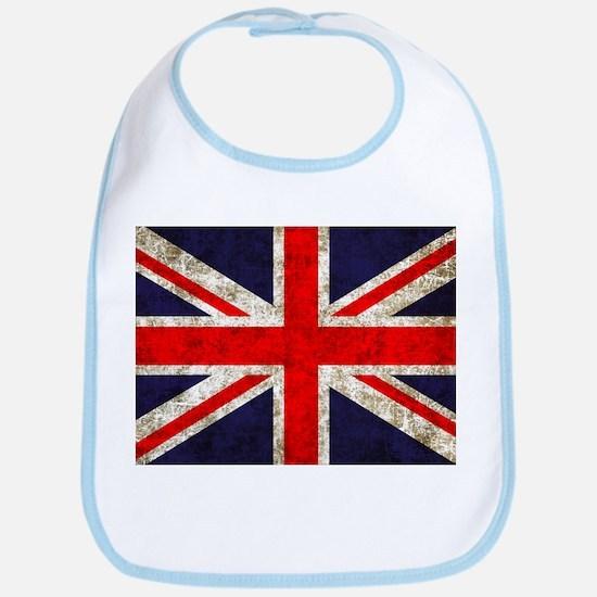 Grunge UK Flag Bib