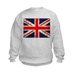Grunge UK Flag Kids Sweatshirt