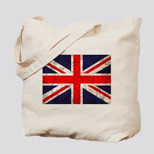 Grunge UK Flag Tote Bag