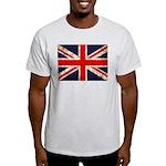 Grunge UK Flag Light T-Shirt