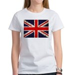 Grunge UK Flag Women's T-Shirt