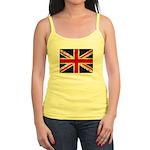Grunge UK Flag Jr. Spaghetti Tank