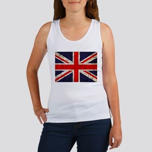 Grunge UK Flag Women's Tank Top