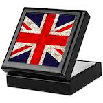 Grunge UK Flag Keepsake Box