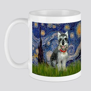 Starry Night & Schnauzer Mug