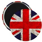 Grunge UK Flag Magnet