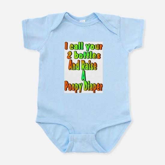 Funny Poker Infant Creeper