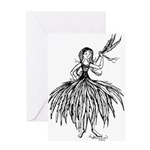 I Feel Feather Light Greeting Card
