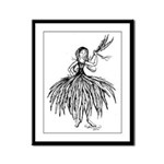 I Feel Feather Light Framed Panel Print