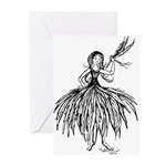 I Feel Feather Light Greeting Cards (Pk of 10)