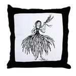 I Feel Feather Light Throw Pillow