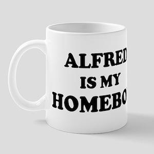 Alfred Is My Homeboy Mug