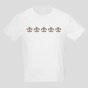 Tribal Voodoo Fleur de lis Kids Light T-Shirt