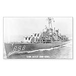 USS AULT Sticker (Rectangle)