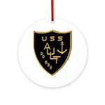 USS AULT Ornament (Round)