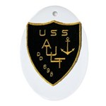 USS AULT Ornament (Oval)