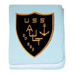 USS AULT baby blanket