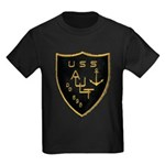 USS AULT Kids Dark T-Shirt
