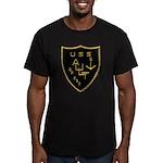 USS AULT Men's Fitted T-Shirt (dark)