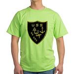 USS AULT Green T-Shirt