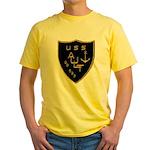 USS AULT Yellow T-Shirt