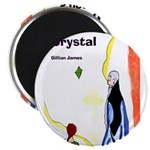 "Jason's Crystal 2.25"" Magnet (100 pack)"