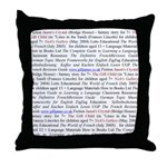 Gill's Titles Throw Pillow