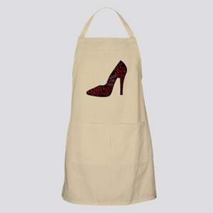Will Work for Shoes Light Apron