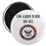 USS AARON WARD Magnet