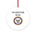USS AARON WARD Ornament (Round)