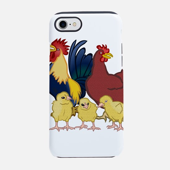 chickens iPhone 7 Tough Case