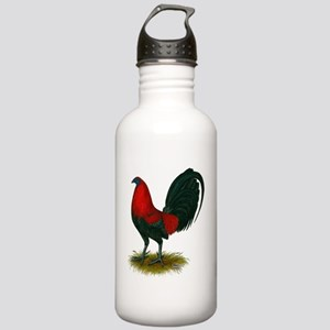 Big Red Rooster Stainless Water Bottle 1.0L