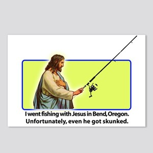 Fishing with Jesus Postcards (Package of 8)