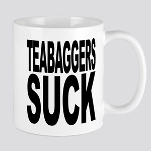 Teabaggers Suck Mug