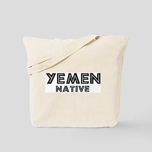 Yemen Native Tote Bag