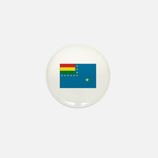 Bolivia Naval Ensign Mini Button