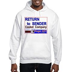 Return 2 Sender CASKET CO Hoodie