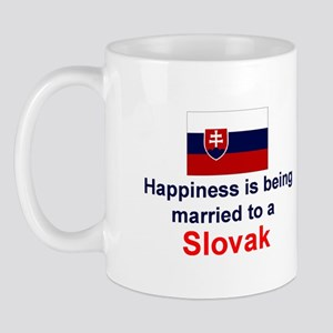 Happily Married To A Slovak Mug