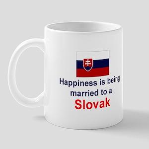 Happily Married To A Slovak Mug