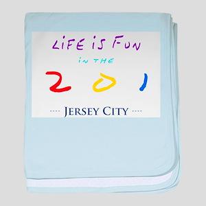 Jersey City baby blanket
