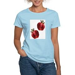 Strawberries Women's Pink T-Shirt