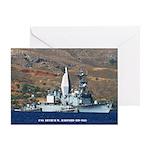 USS ARTHUR W. RADFORD Greeting Card