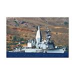 USS ARTHUR W. RADFORD Mini Poster Print
