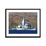 USS ARTHUR W. RADFORD Framed Panel Print