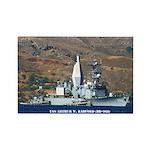 USS ARTHUR W. RADFORD Rectangle Magnet