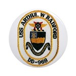USS ARTHUR W. RADFORD Ornament (Round)
