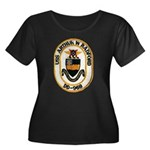 USS ARTHUR W. RADFORD Women's Plus Size Scoop Neck