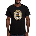 USS ARTHUR W. RADFORD Men's Fitted T-Shirt (dark)